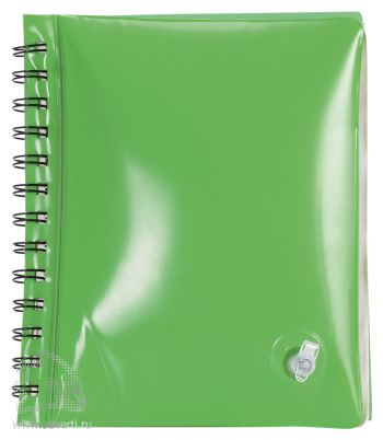 Блокнот надувной «Малокен», зеленый