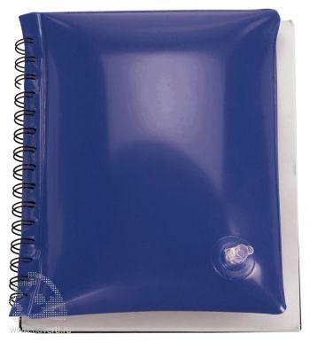 Блокнот надувной «Малокен», синий