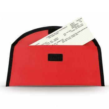 Холдер для тревел-документов «Lisboa», красный, открытый
