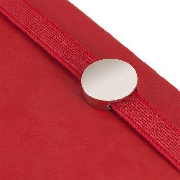 Ежедневник «Coach», недатированный, красный, резинка