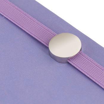 Ежедневник «Coach», недатированный, фиолетовый, резинка