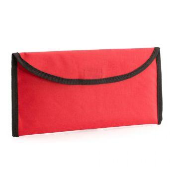 Холдер для тревел-документов «Lisboa», красный
