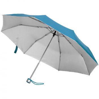 Зонт складной «Silverlake», голубой