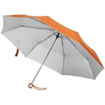 Зонт складной «Silverlake», оранжевый