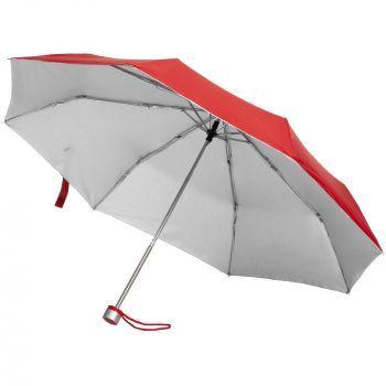 Зонт складной «Silverlake», красный