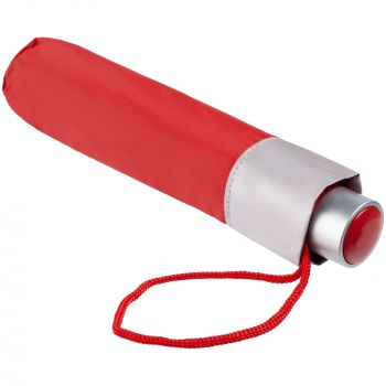 Зонт складной «Silverlake», красный, в чехле