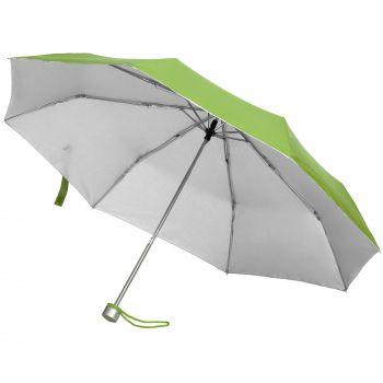 Зонт складной «Silverlake», зеленый