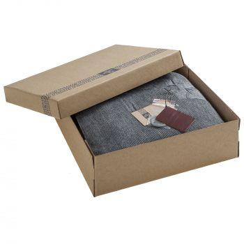 Плед «Onside», серый, в коробке