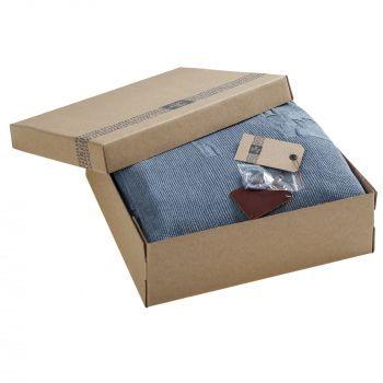 Плед «Onside», голубой, в коробке