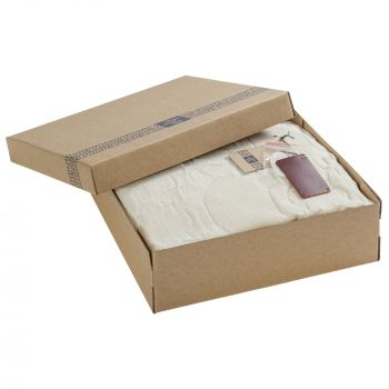 Плед «Onside», белый, в коробке