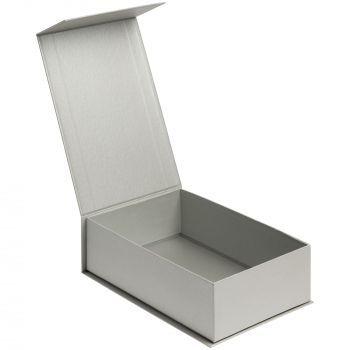 Коробка «ClapTone», серебристая, в открытом виде