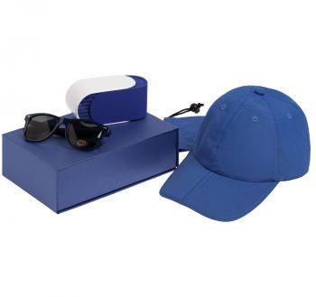 Коробка «ClapTone», синяя, пример использования