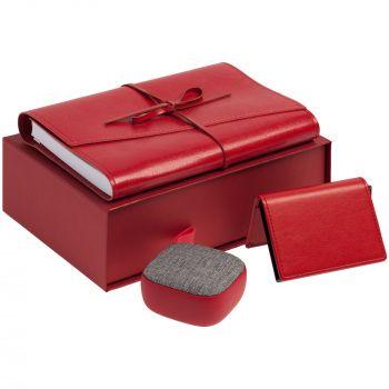 Коробка «ClapTone», красная, пример использования