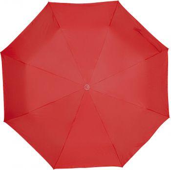 Зонт складной «Silverlake», красный, купол