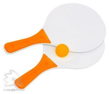 Набор для игры в теннис «Пинг-понг», оранжевый
