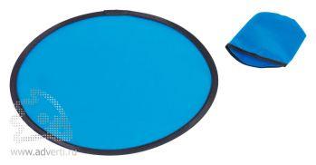 Тарелка летающая складная «Flying leap», синяя