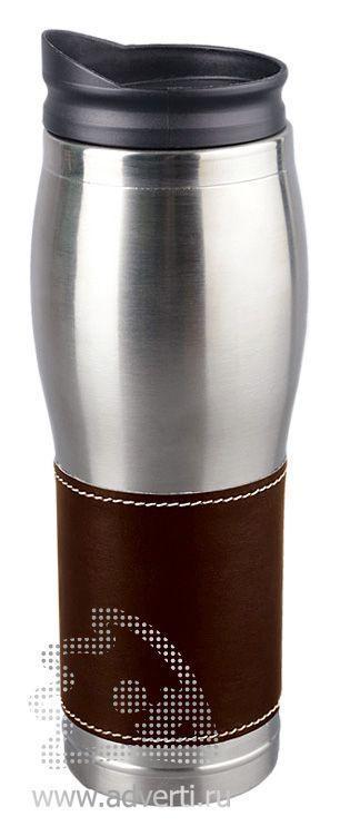 Термостакан «Линдс», коричневый