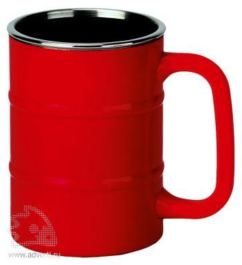 Кружка «Баррель», красная