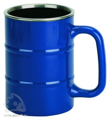 Кружка «Баррель», синяя