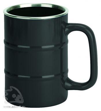 Кружка «Баррель», черная