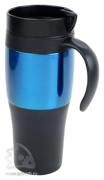 Термокружка «Либерика», синяя