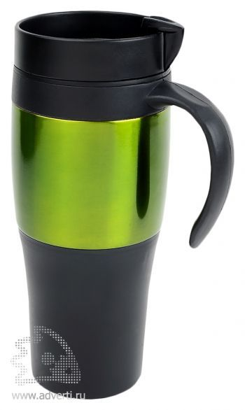 Термокружка «Либерика», зеленая
