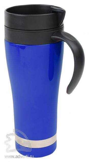 Термокружка «Робуста», синяя