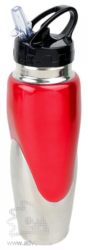 Спортивная бутылка «Олимпик», красная