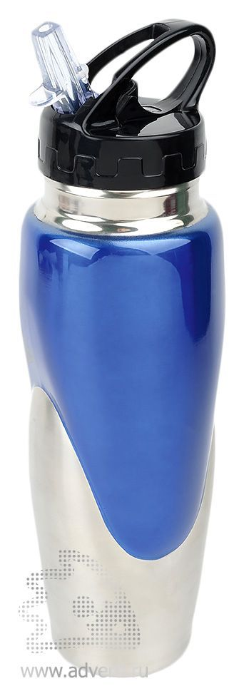Спортивная бутылка «Олимпик», синяя