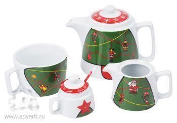 Набор чайный «Волшебное дерево», в разобранном виде