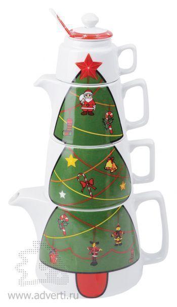 Набор «НоНабор чайный «Волшебное дерево»вогоднее чаепитие»