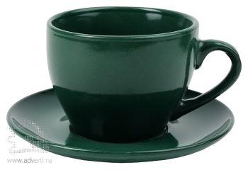 Чайная пара «Гленрок», зеленая