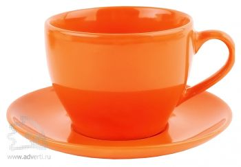 Чайная пара «Гленрок», оранжевая