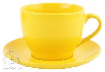 Чайная пара «Гленрок», желтая