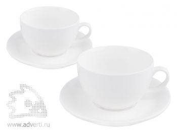 Набор: 2 чашки с блюдцами «Дабл»