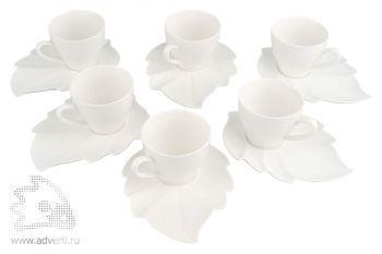 Чайный набор «Осенний» на шесть персон