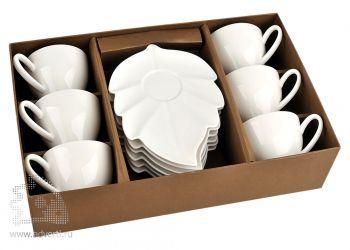 Чайный набор «Осенний» на шесть персон в коробке