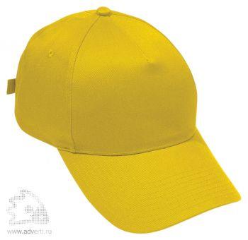 Бейсболка «Standard», желтая