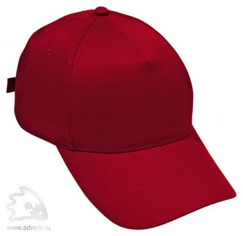 Бейсболка «Standard», красная