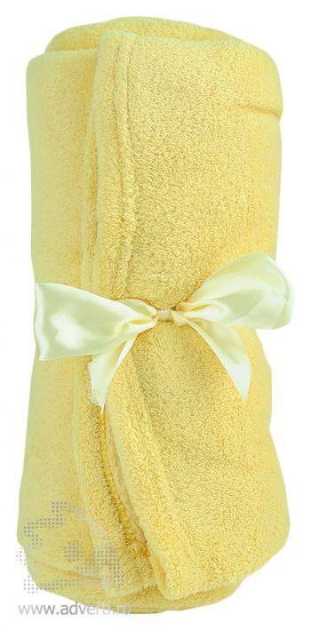 Плед «Уют» в чехле, желтый