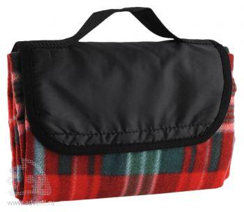 Плед для пикника «Шотландия», красный