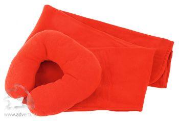 Набор для путешествий «Comfy» в чехле, красный