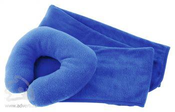 Набор для путешествий «Comfy» в чехле, синий