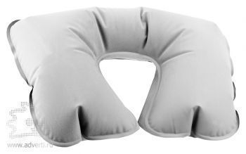 Подушка надувная «Сеньос», серая