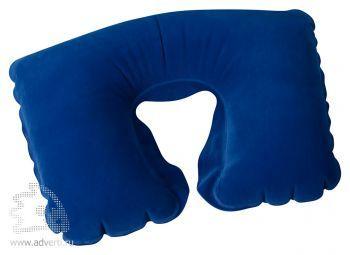 Подушка надувная «Сеньос», синяя