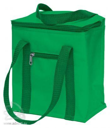 Сумка-холодильник на 5,7 л, зеленая