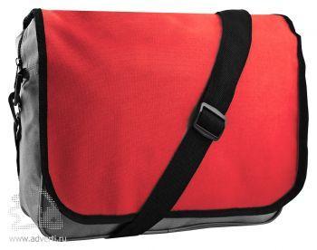 Конференц-сумка «College», красная