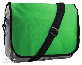Конференц-сумка «College», зеленая