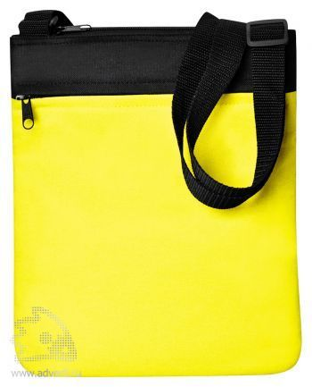 Промо сумка на плечо «Simple», желтая