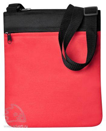 Промо сумка на плечо «Simple», красная